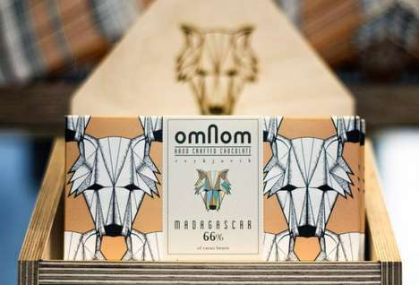 Adorably Packaged Sweets - Omnom Handmade Chocolate Features Enticing Flavors like Burned Sugar