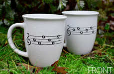 Musical Gamer Cups - The Zelda OoT Mug Features 64-Bit Sheet Music