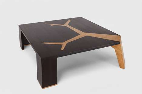 Temple-inspired Coffee Tables