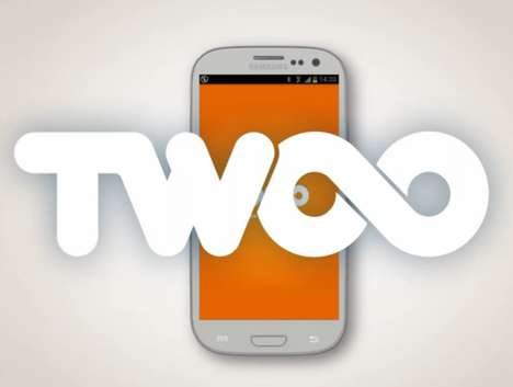 Socially Embellishing Dating Apps - The Twoo Social App is a Playful Matchmaker Aid
