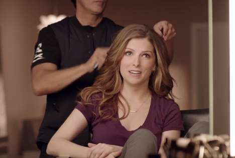 Celebrity Parody Beer Ads - Anna Kendrick Lends a Helping Hand in This Newcastle Brown Ale Ad