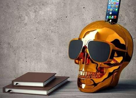 Chromatic Skull Speakers