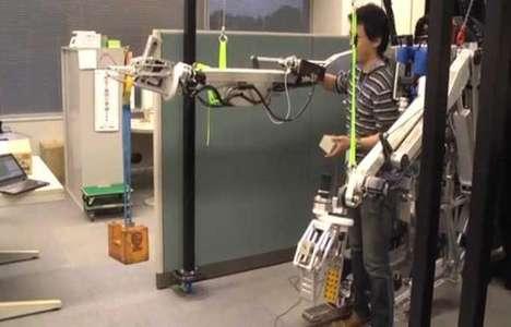 Superhero Mimicking Robot Suits