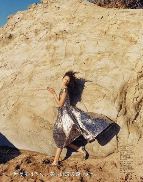 Sparkling Desert Series - The SPUR Editorial is Gleefully Glittering in the Sun