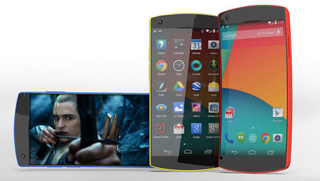 Ahead-of-the-Curve Handsets