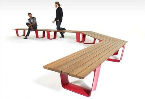 Customizable Public Furniture