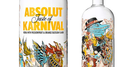 Surreal Carnival Vodka Branding