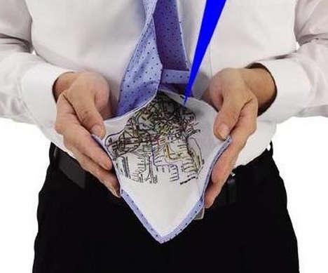 Navigation Aiding Neckties