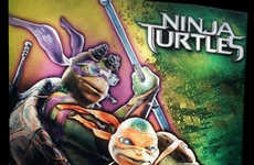 80s Film Reboot Posters - The New Ninja Turtles Poster Sends Fans Buzzing
