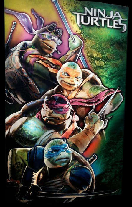 The New Ninja Turtles Poster Sends Fans Buzzing