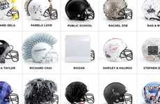 Designer Football Helmets