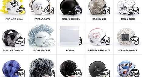 Designer Football Helmets