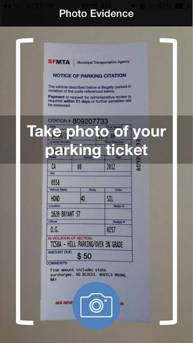 Parking Ticket-Battling Apps