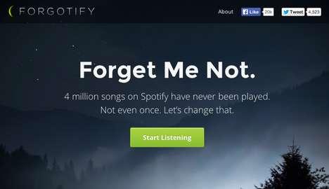 Neglected Song Appreciation Sites