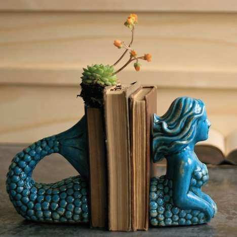 Mythological Aquatic Bookends