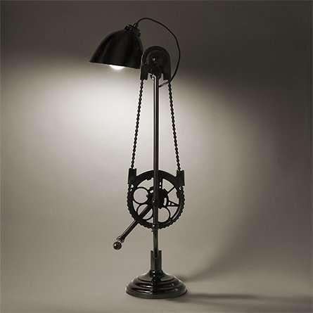 Vintage Mechanical Motion Lamps