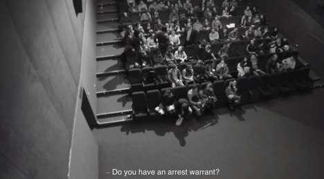 Theatrical Abduction Stunts
