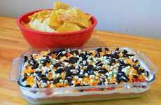 Sweettooth Nacho Dips - The 7-Layer Dessert Dip Transforms the Superbowl Food Staple
