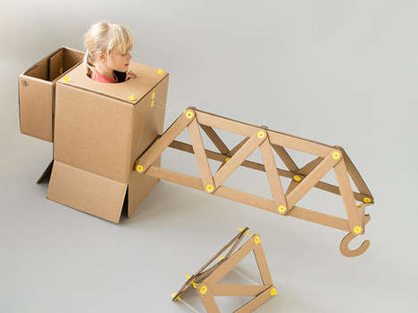 DIY Mechanical Playthings - The Strawbees Toy Kit Targets Aspiring Architects and Engineers