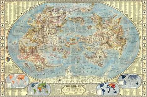 Expansive Internet-Traveling Maps