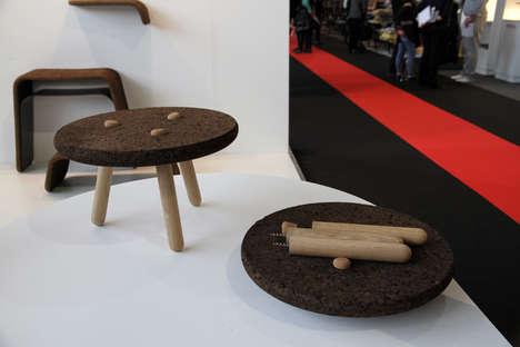 Unusual Cork-Based Furniture
