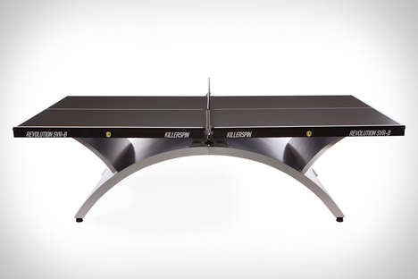 Curvaceous Ping Pong Tables