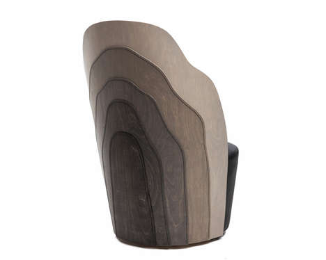 Rustic Sewn Wood Furniture