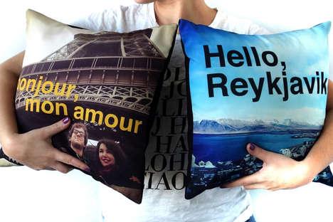 Customized Photo Cushions