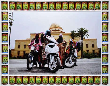 Arabic Girl Bikers