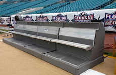 Temperature-Controlled Athletic Benches - These Sports Benches Keep the Perfect Climate
