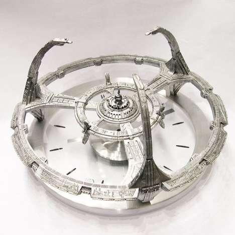 Pop Culture Space Clocks