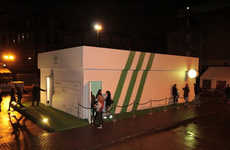 Shoe Box Structures (UPDATE) - This Adidas Pop Up Shop Showed Off Its Stan Smith Collection