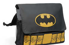 Heroic Manly Diaper Bags - This Batman Diaper Bag will Save the Day From Any Little Mistakes