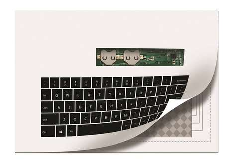 Practical Paper-Thin Keyboards
