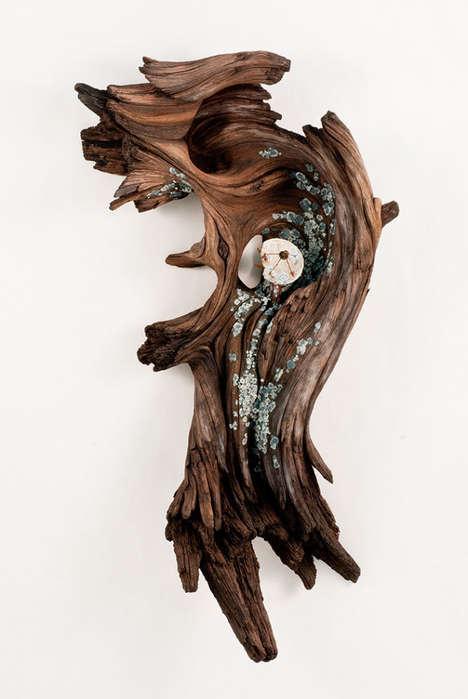 Intricate Lifelike Ceramic Sculptures
