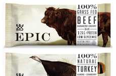 Mega Meat-Infused Protein Bars - These Epic Bars are Going All Meat and Ditching the Whey