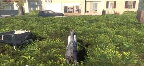 Goat Simulator Combines Strange Content with Equally Strange Design