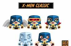 Superhero Paper Dolls - These X-Men Papercraft Dolls are Cute Collector's Items for Serious Fans
