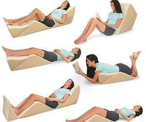 Multi-Functional Support Cushions - The Contour BackMax Can Be Used in Eight Different Positions