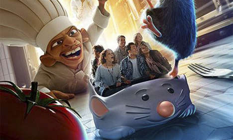 Disney Rat Fan Attractions - The Disneyland Paris Ratatouille Themed Attractions are Cute