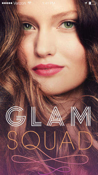 Beautiful Blowout Hair Apps - The New Beauty App GLAMSQUAD Will Keep Your Hair Looking Fabulous