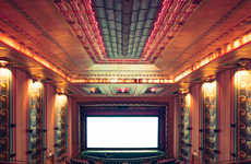 Golden Age Cinema Photography - Franck Bohbot's Theater Photography Captures Grandeur of the Past