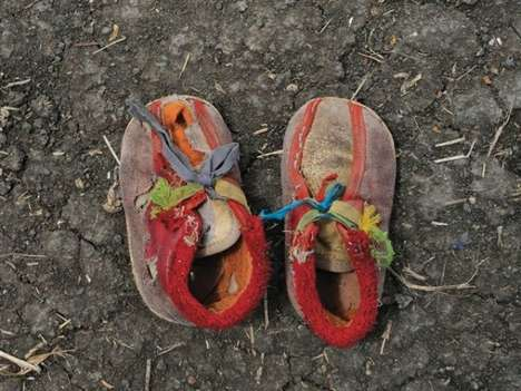 Refugee Footwear Photography