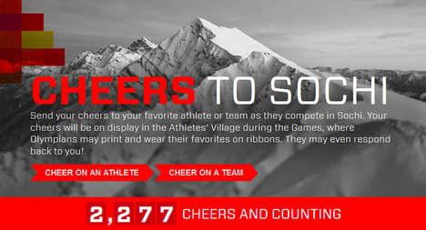 Athlete-Encouraging Social Campaigns