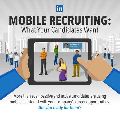 Motivating Mobile Job Applications
