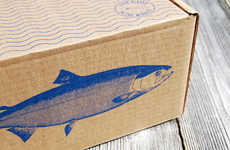 Sustainable Aquatic Branding - Sitka Salmon Shares Use Smart Packaging as a Canvas for its Story