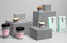 Chic Monochrome Mayan Packaging