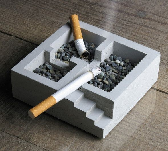30 Amazingly Abstract Ashtrays