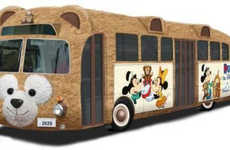 Cuddly Bear Buses - Disney's Duffy Teddy Bear Bus is an Adorable Way to Get Around