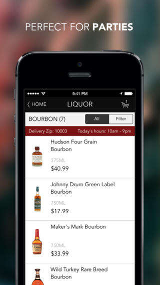 Booze-Delivering Apps